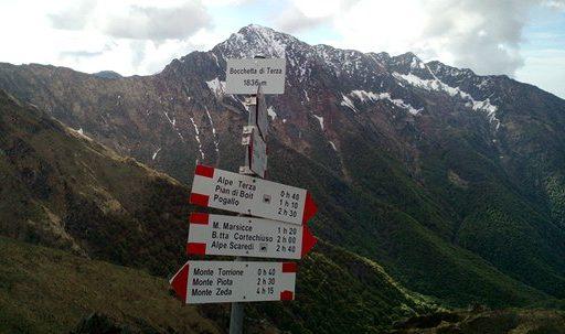 Monte Zeda Dalla Bocchetta Di Terza
